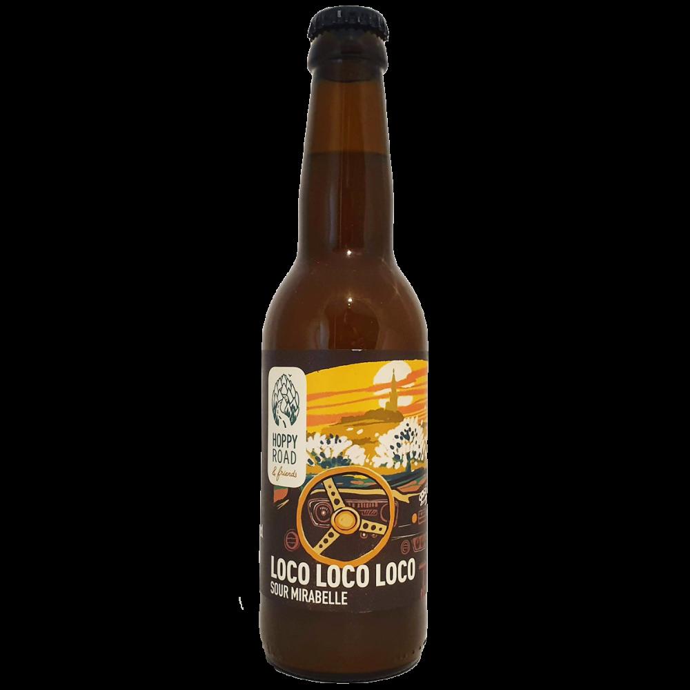 Bière Loco Loco Loco 33 cl - Brasserie Hoppy Road