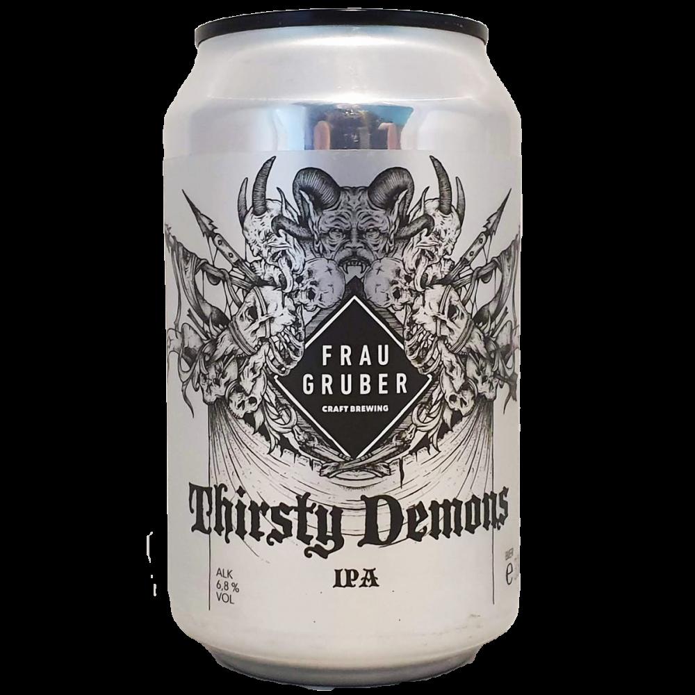 Bière Thirsty Demons 33 cl - Brasserie FrauGruber Brewing