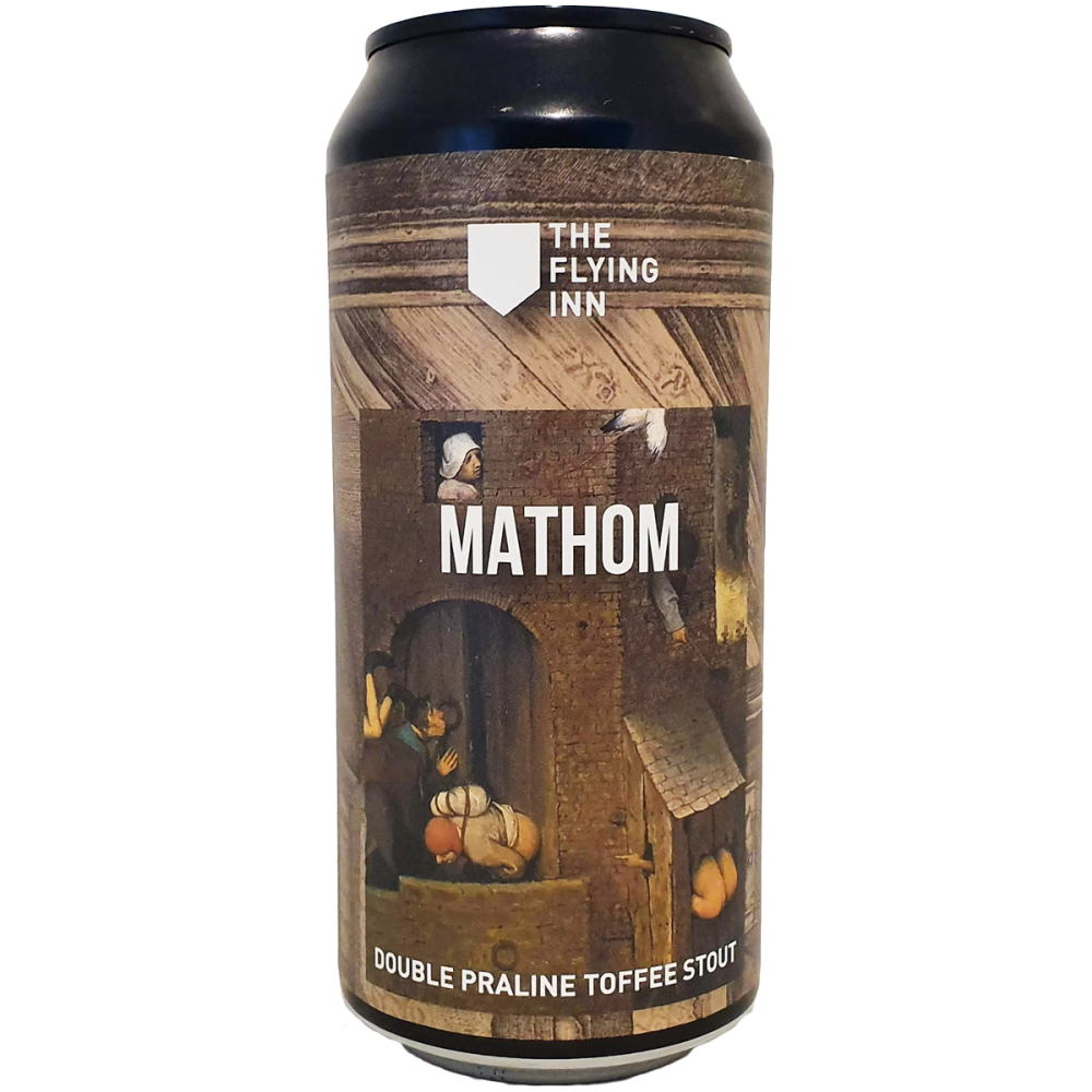 Bière MATHOM Stout 44 cl - Brasserie The Flying Inn