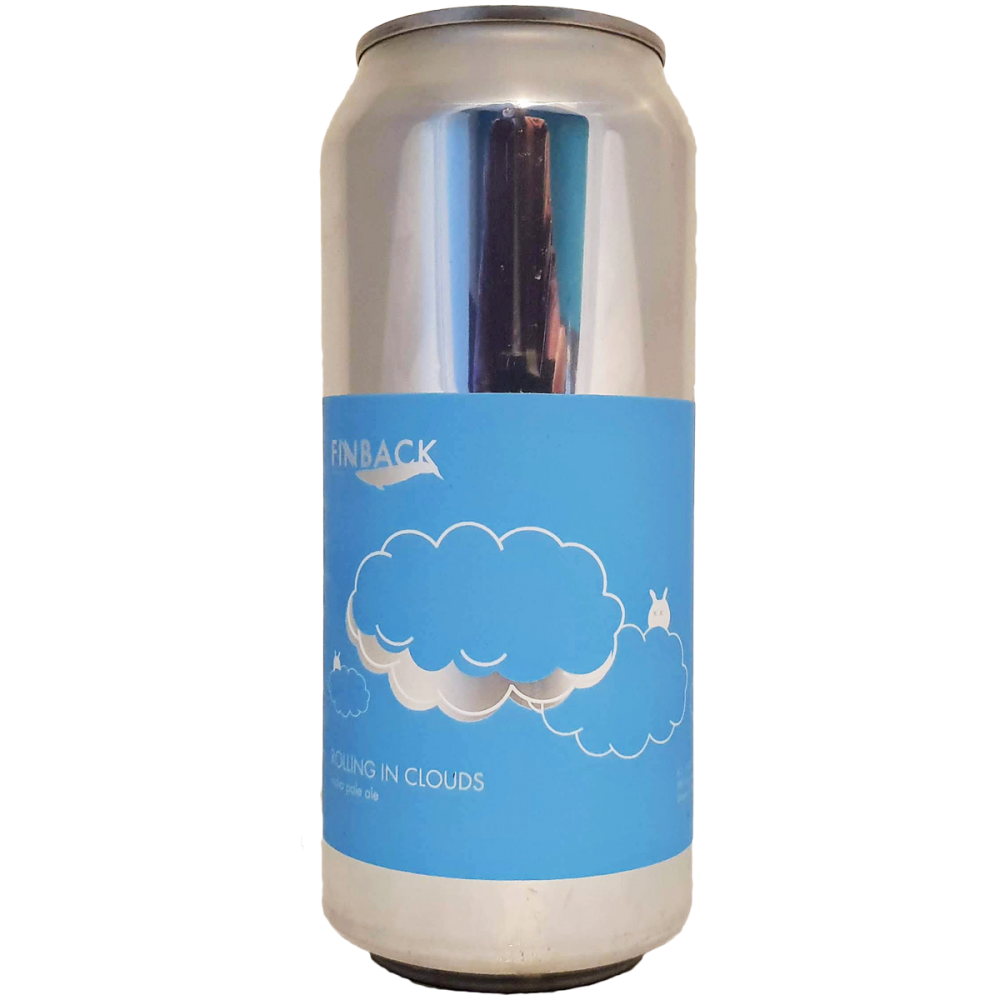 Bière Rolling In Clouds IPA - 47,3 cl - Finback Brewery