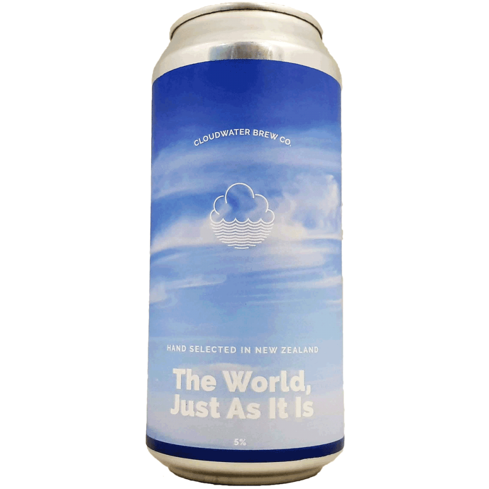 The World, Just As It Is 44 cl - Cloudwater