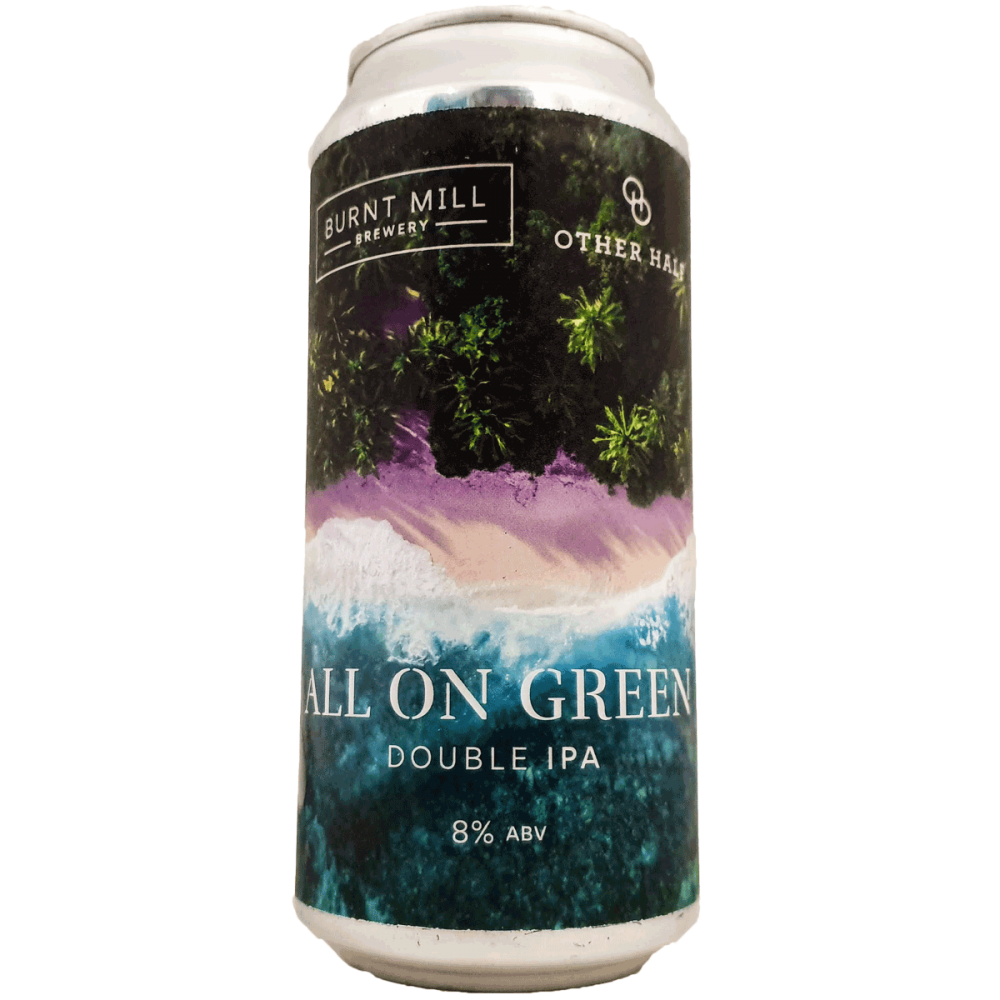 All On Green 44 cl - Burnt Mill x Other Half