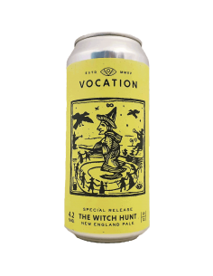 The Witch Hunt New England Pale 44 cl - Vocation