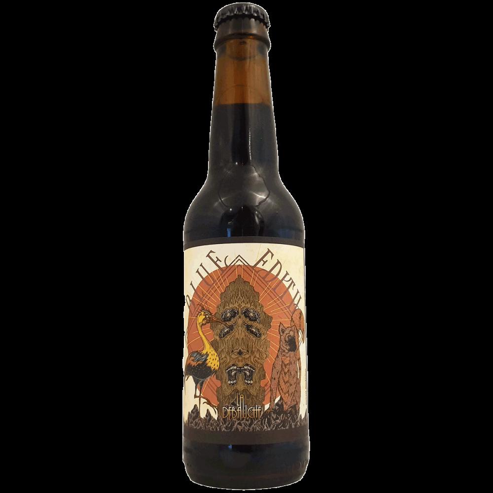 Blue Edith Framboise Stout Sel 33 cl Brasserie La Débauche Bière Artisanale Craft Beer Bieronomy