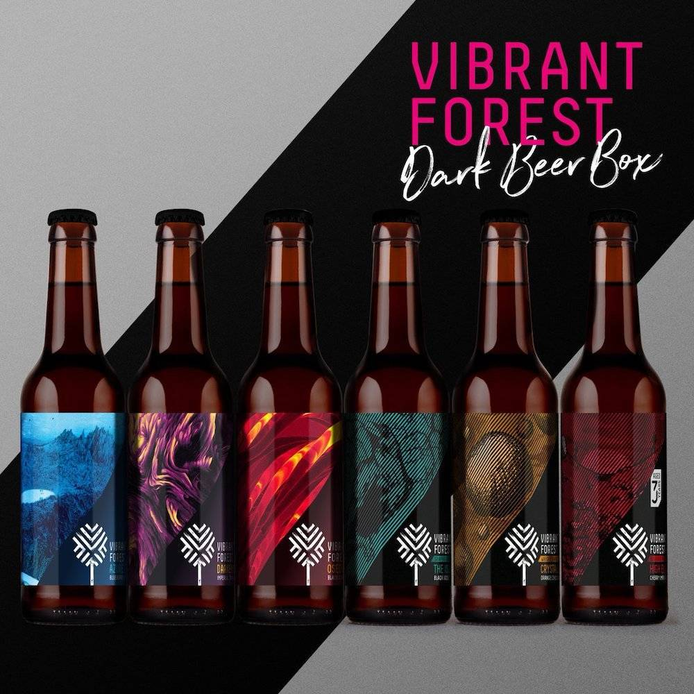 Dark Beer Box 2019 6 bières - Vibrant Forest