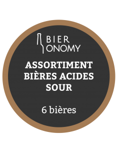 Assortiment Acides Sour Bières Artisanales Bieronomy Craft Beer