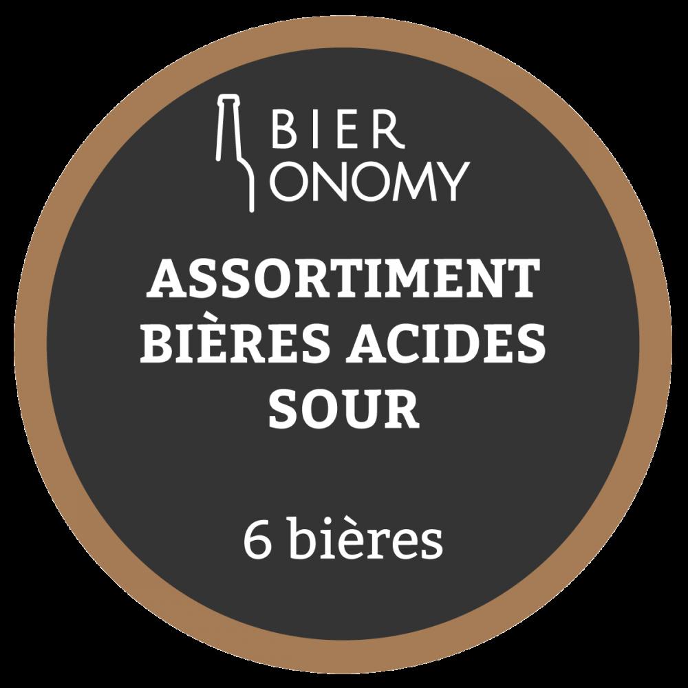 Assortiment Acides Sour Bières Artisanales Bieronomy Craft Beer