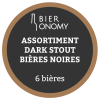 Assortiment Dark Stout 6 Bières