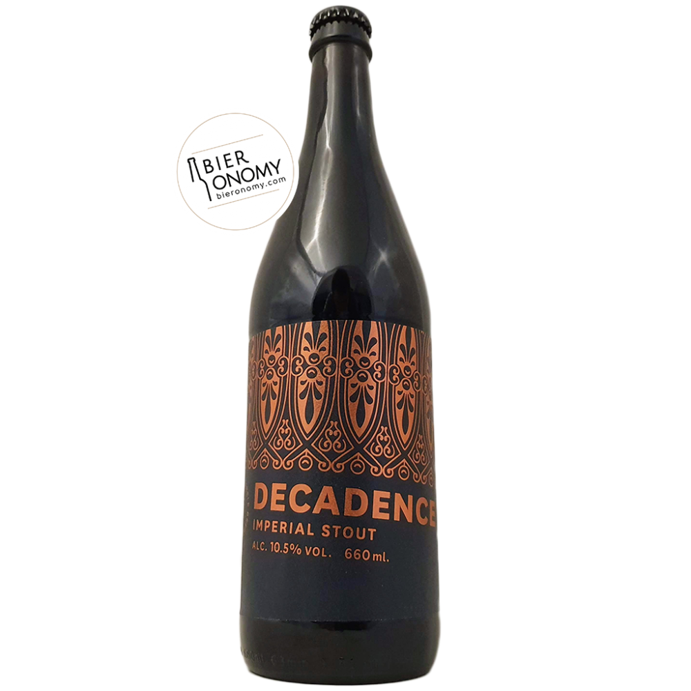 Decadence 2019 Imperial Stout Marble Brewery Bière Artisanale Bieronomy