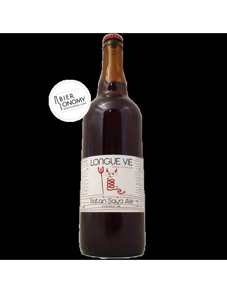 Satan Says Ale Smoked Ale - 75 cl - Longue Vie