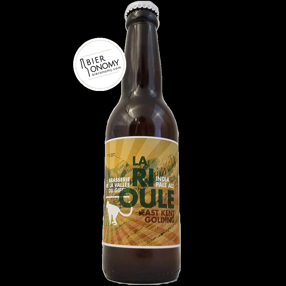 La Rioule East Kent Golding IPA India Pale Ale Brasserie de la Vallée du Giffre Bière Artisanale Bieronomy