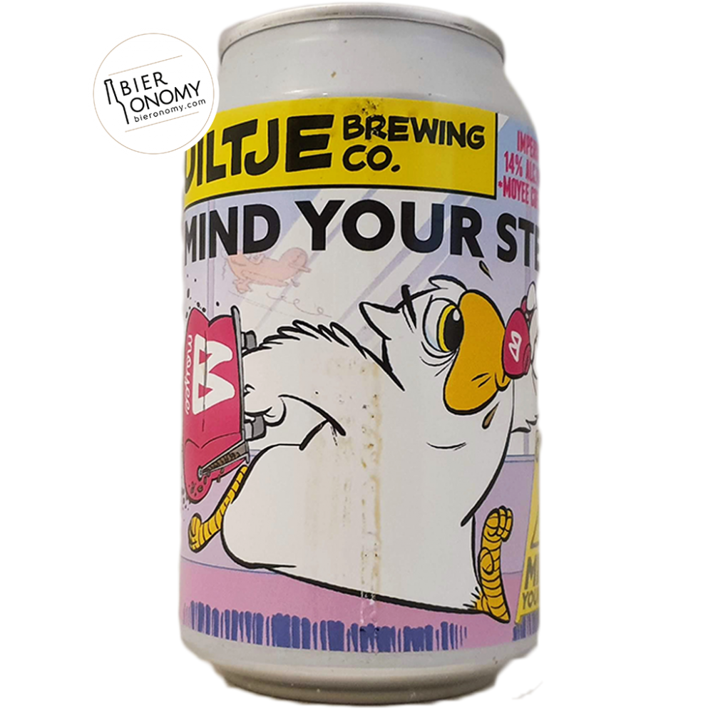 Mind Your Step! Moyee Coffee Edition - 33 cl - Uiltje