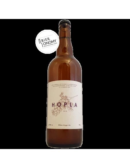 Hopla White Grape Ale Brasserie Veyrat Bière Artisanale Bieronomy