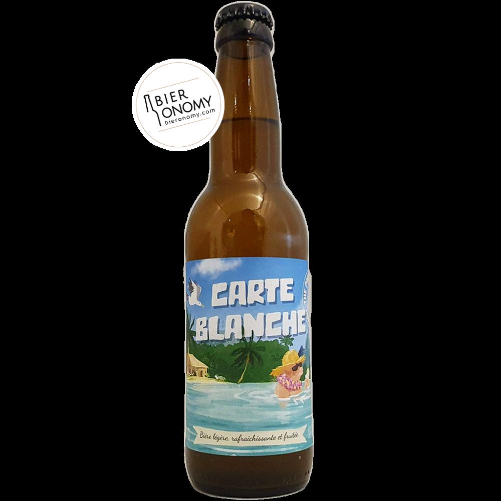 Carte Blanche Wheat Ale The Piggy Brewing Company Bière Artisanale Bieronomy