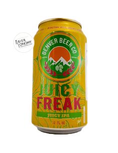 Juicy Freak Juicy IPA Denver Beer Co