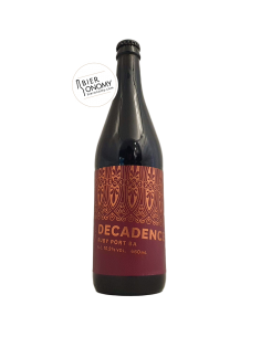 Ruby Port BA Decadence Imperial Stout 66 cl - Marble