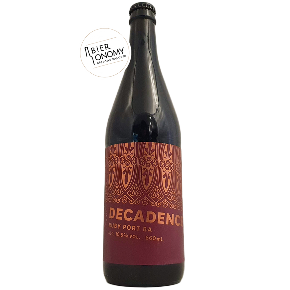 Ruby Port BA Decadence Imperial Stout Marble Brewery Bière