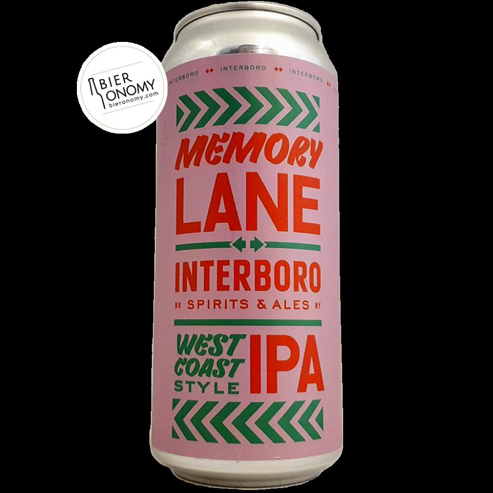 Memory Lane IPA 47,3 cl Interboro