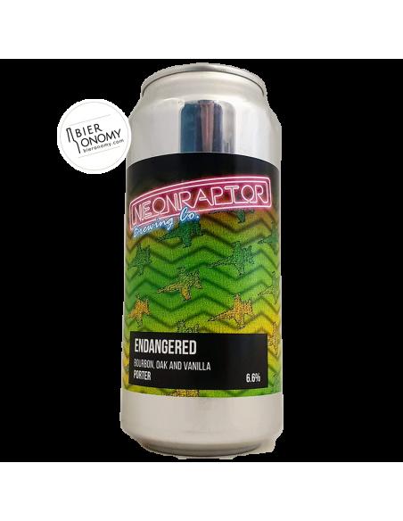 Endangered Porter Neon Raptor Brewing Co Bière