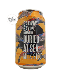 Bière Buried At Sea Milk Stout 33 cl Galway Bay Brewery