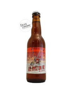 All Ryez On Me Rye IPA 33 cl Grand Paris x L'Atlante