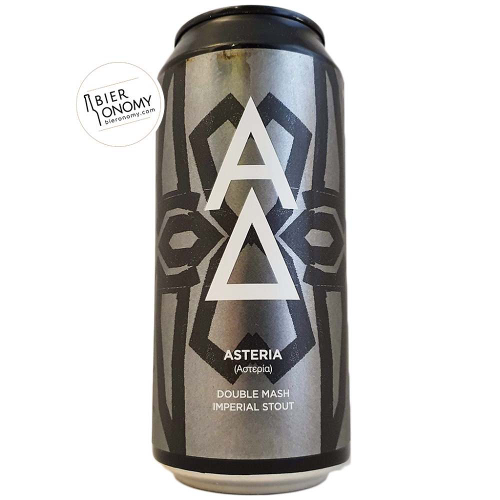 Asteria Imperial Stout Alpha Delta Brewing Bière Artisanale Bieronomy