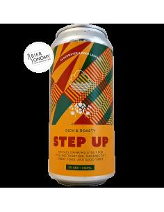 Bière Step Up Stout 44 cl Brasserie Cloudwater x Rock Leopard