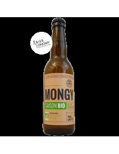 Bière Mongy Saison Bio 33 cl Brasserie Cambier