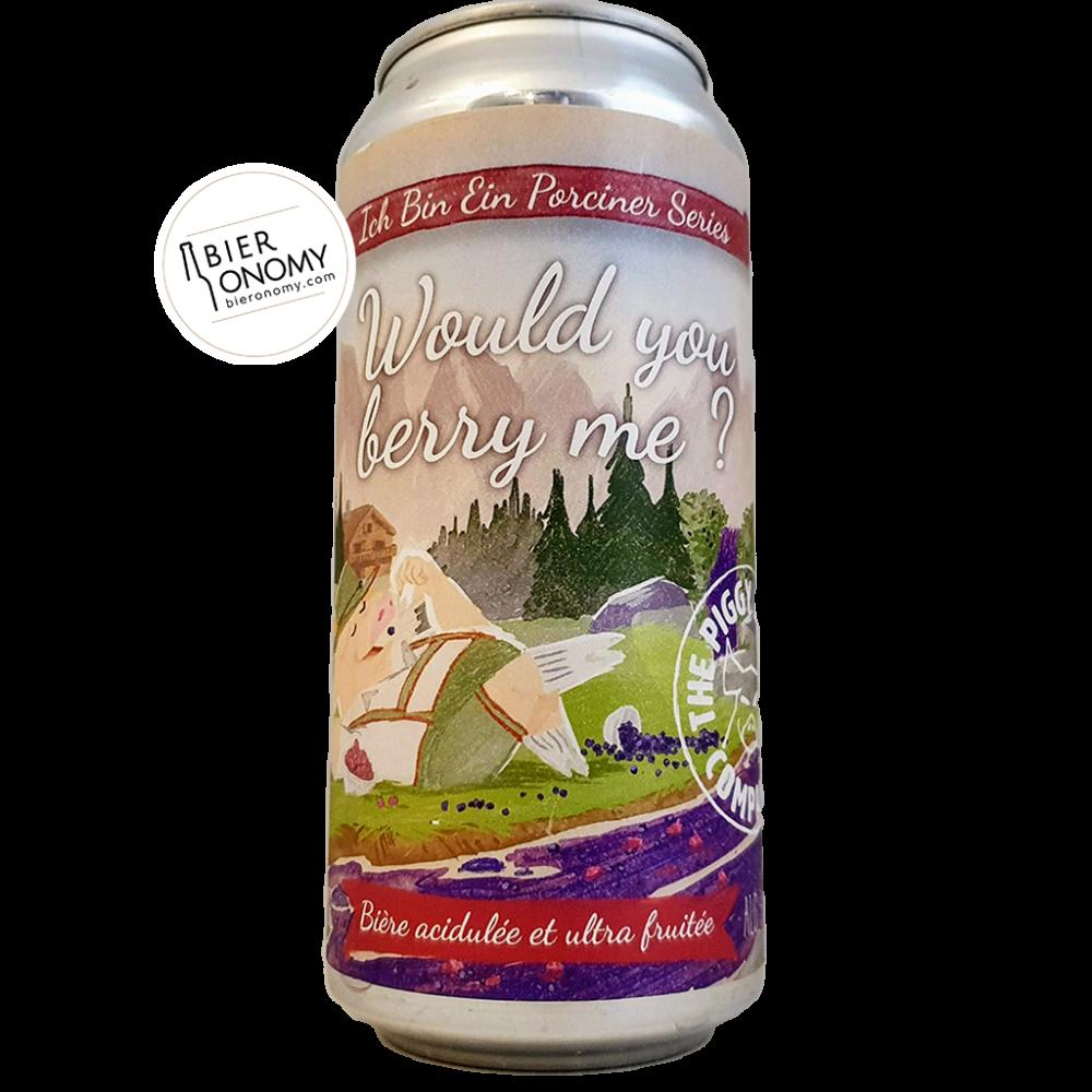 Would You Berry Me? The Piggy Brewing Company Sour Bière Artisanale Bieronomy