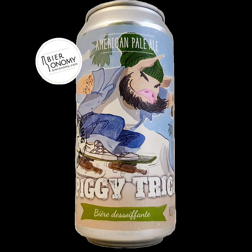 Bière Piggy Trick Pale Ale 44 cl Piggy Brewing Brasserie