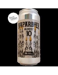 Almost 10 TIPA Naparbier Brewery Sand City Bière Artisanale Bieronomy