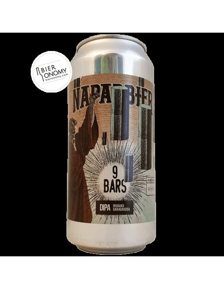 9 Bars DIPA Naparbier Brewery Whiplash Brewing Bière Artisanale Bieronomy