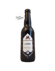 La Denise Porter Micro Brasserie La Montagnarde Bière Artisanale Noire Bieronomy