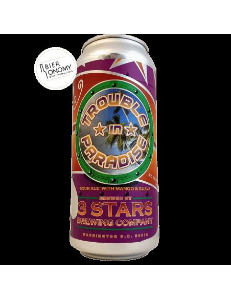 Trouble In Paradise Sour 3 Stars Brewing Company Bière Artisanale Bieronomy