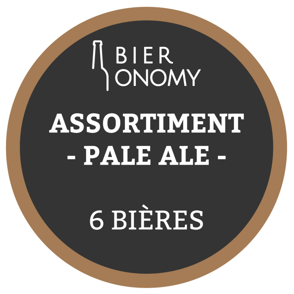 Assortiment Pale Ale bières artisanales craft Bieronomy