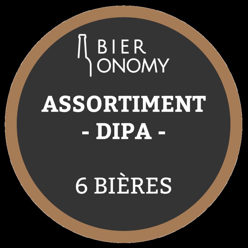 Assortiment DIPA Double IPA Bières Artisanales Bieronomy Craft Beer