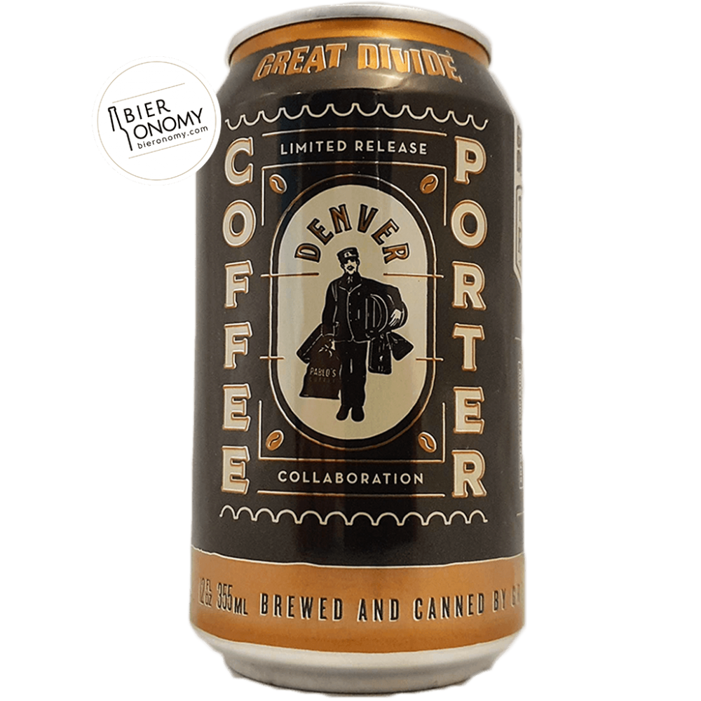 Pablo's Denver Coffee Porter - 35,5 cl - Great Divide