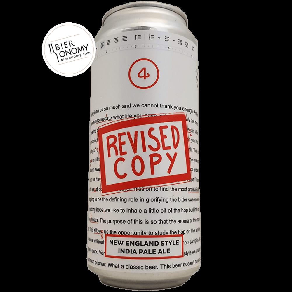Revised Copy New England IPA NEIPA 4 Noses Brewing Company