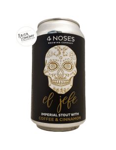 El Jefe Imperial Stout Coffee Cinnamon 4 Noses Brewing Company
