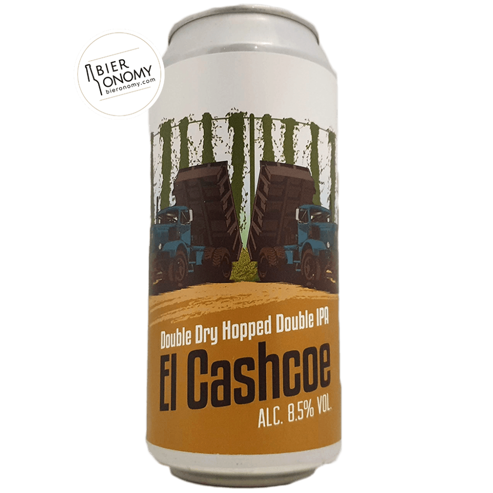 El Cashcoe DDH Double IPA New England Brasserie du Grand Paris