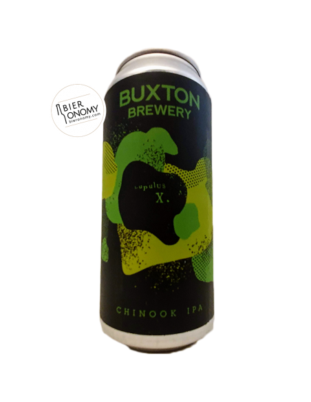Chinook IPA LupulusX Brasserie Buxton Brewery Bière
