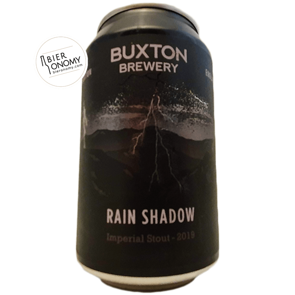 Rain Shadow Imperial Stout Buxton Brewery Bière