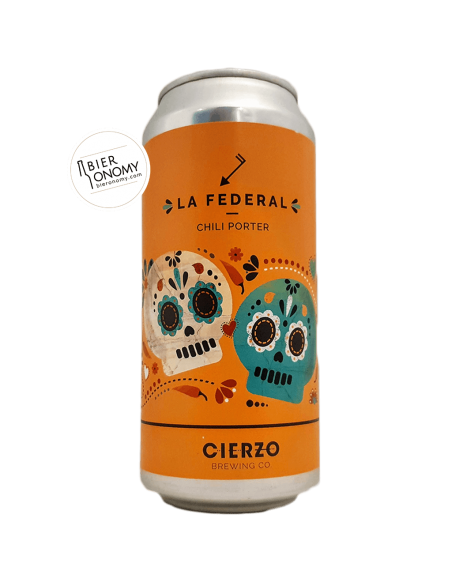 La Federal Chili Porter Cierzo Brewing Co Bière Artisanale Bieronomy