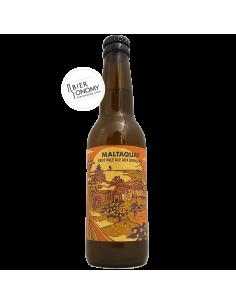 Maltaquat Brut Pale Ale Kumquats Brasserie Hoppy Road Bière Artisanale Bieronomy