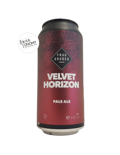 Velvet Horizon Pale Ale FrauGruber Craft Brewing Bière Artisanale Bieronomy