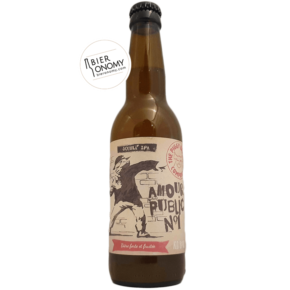 Amour Public N°1 DIPA New England The Piggy Brewing Company Bière Artisanale Bieronomy