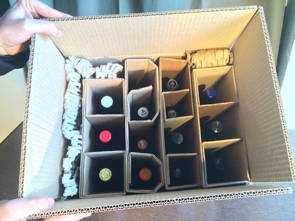 Emballages - Transport - Livraison - Bieronomy - Bières Artisanales