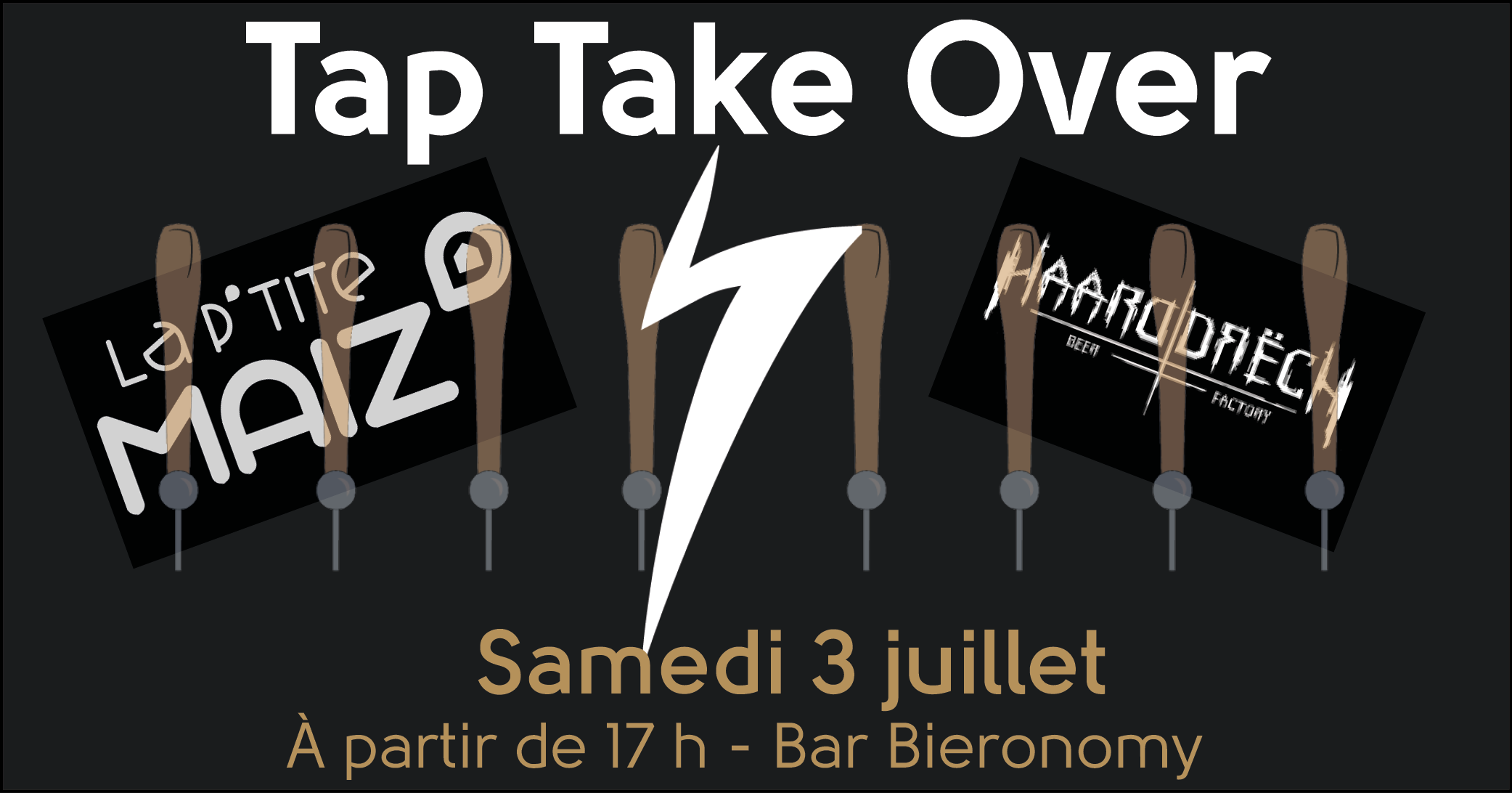 Tap Take Over La P'tite Maiz' & Haarddrëch chez Bieronomy